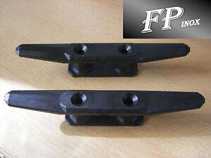 Taquet Nylon Noir ( Lot de 2 ) Longueur 145mm