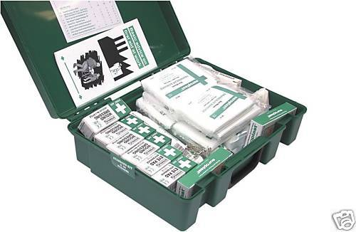 FIRST AID KIT UPTO 50 STAFF HSE COMPLIANT