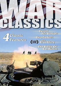 War Classics - Vol. 6: 4 Feature Films (DVD, 2004)