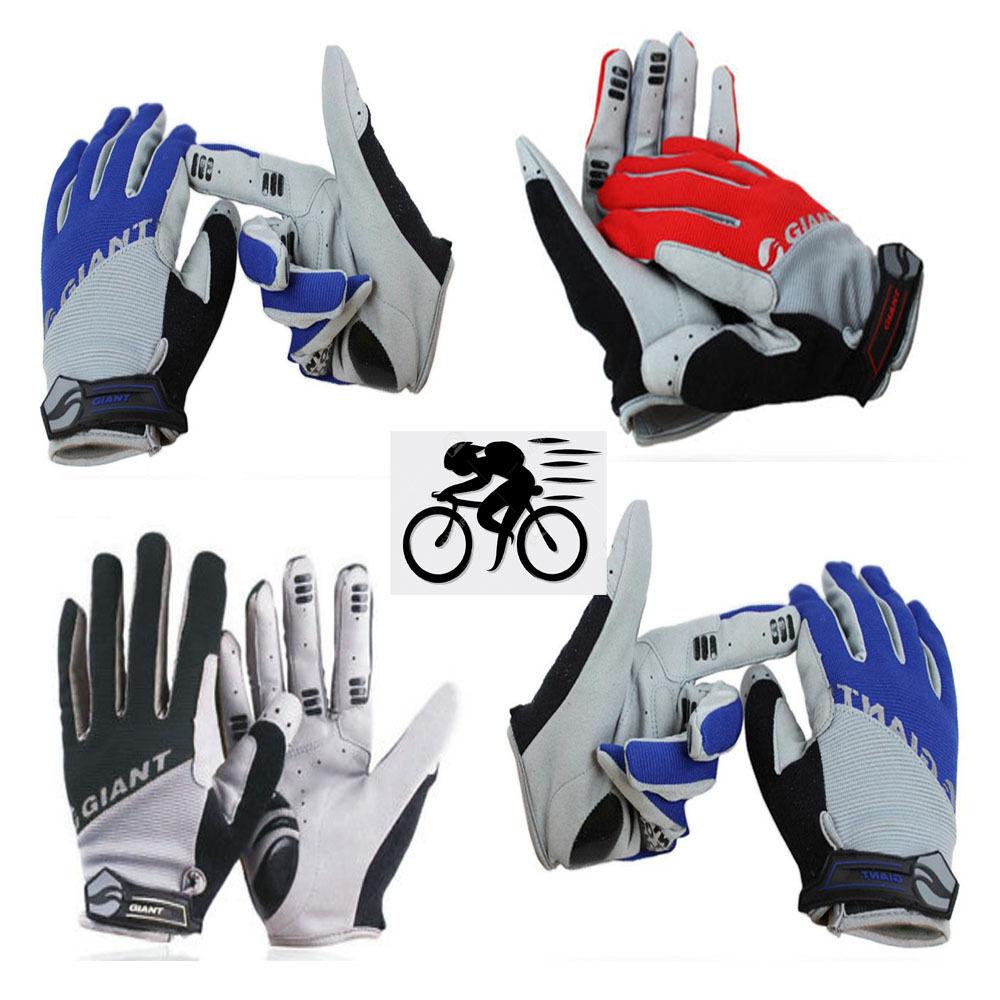Écran tactile Cyclisme Gants Plein doigt BMX vélo BMX doigt MTB Road Moufles géant NEUF 8364bc