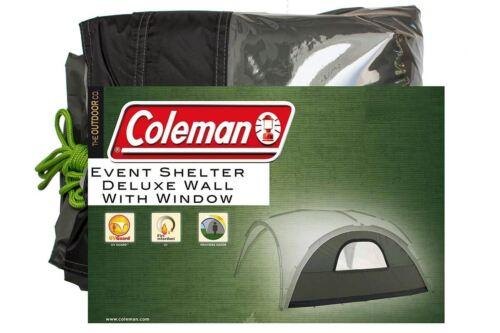 Coleman Event Shelter Deluxe Wall with Window XL UV Guard Camping Caravan