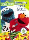 Imagine Play & Learn 3pc With Sesame Street DVD Region 1 828768158791