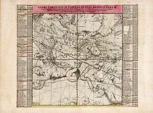 Old-Vintage-Decorative-Stars-map-Andromeda-Aquarius-Doppelmayr-ca-1742