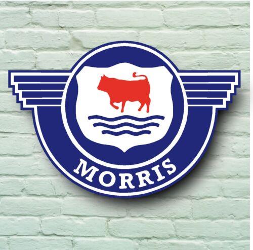 MORRIS MINOR BADGE LOGO 2FT LARGE GARAGE SIGN WALL MINOR BRITISH CLASSIC CAR
