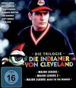 Die Indianer von Cleveland | 3 X Major League | Charlie Sheen [FSK16] Blu-ray