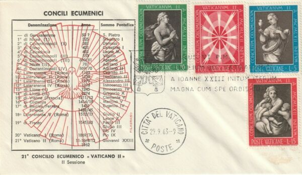1963 Vatican Cover-conseil Du Vatican
