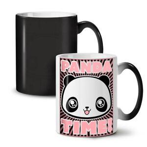 Adorable Panda Time NEW Colour Changing Tea Coffee Mug 11 oz   Wellcoda