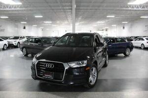 2017 Audi Q3 LEATHER I PANOROOF I HEATED SEATS I POWER OPTIONS I BT