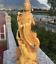 Chinese-Boxwood-Wood-Carving-Guan-Yin-Ride-Dragon-Goddess-Bodhisattva-Statue thumbnail 2