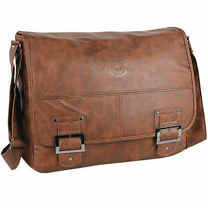 3df5bac2a1e4a Das Bild wird geladen DANIEL -RAY-Umhaengetasche-Schultertasche-Schultasche-HAVANNA-Laptop-Tasche-