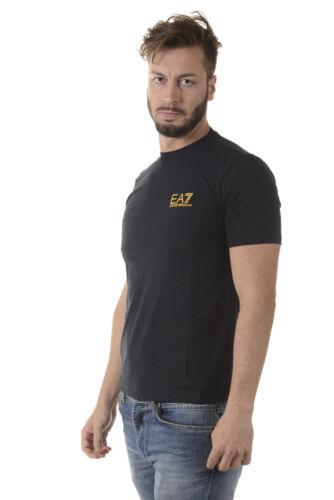 1578 T Armani Homme Coton Emporio Sweat Ea7 Shirt Bleu 6ypt86pj20z z5pRd