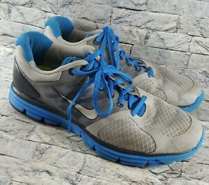 085ded522c26 Nike LUNARGLIDE 2 Flywire Men s Size 9 Blue Gray Running Shoes ...