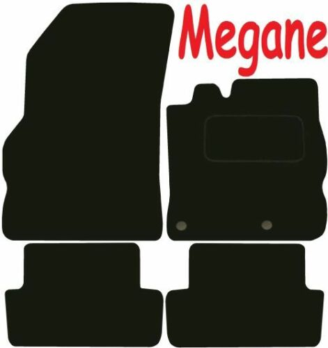 Deluxe Quality Car Mats for Renault Megane 08-17 ** Tailored for Perfect fit ;