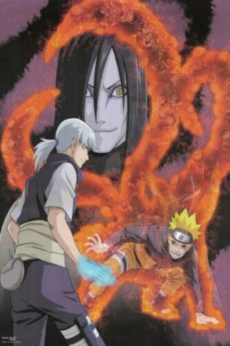Poster Naruto Sasuke Kakashi Japan Anime Boy Room Wall Cloth Print 10