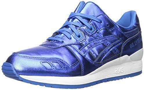 NEW Womens ASICS GEL-Lyte III Retro Running Sneaker Pewter Blue Sz 6.5 , 9.5, 10