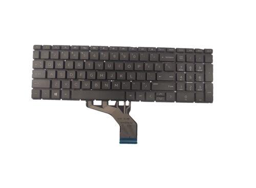 New HP 15-db0010nr 15-db0011ds 15-db0011dx Keyboard US Black