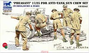 Bronco-1-35-CB35135-Pheasant-17-25-Pdr-Anti-Tank-Gun-Crew-Set-Hot
