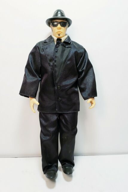 The Blues Brothers Elwood Dan Akroyd Action Figure Doll Toy 10