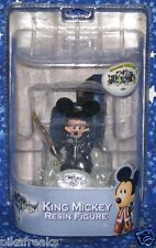 King Mickey Mouse Disney Kingdom Hearts II Resin Figure New MISP USA Seller