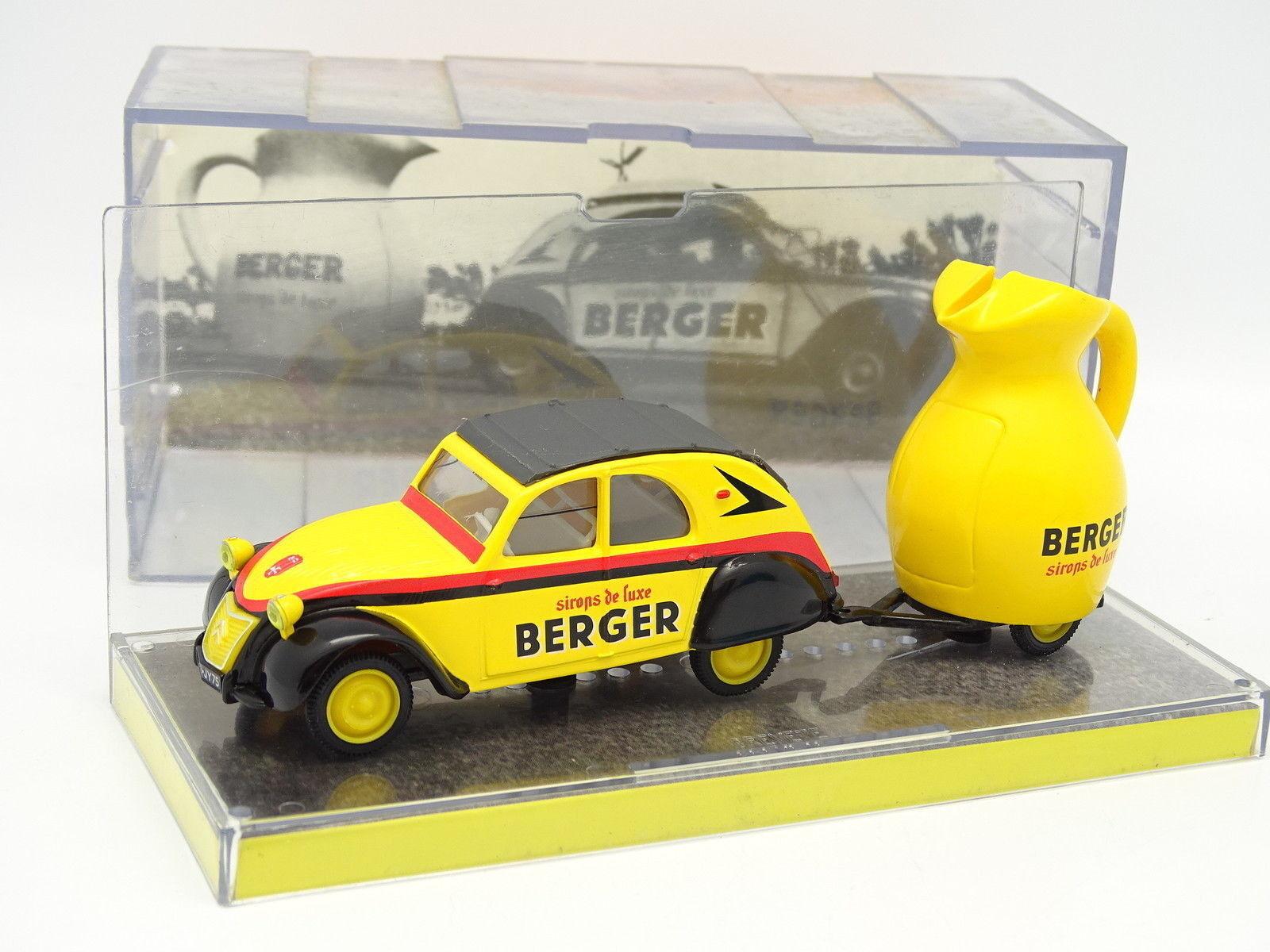 Norev 1 43 - - - Citroen 2CV Berger + Remorque Carafe Tour de France d90846