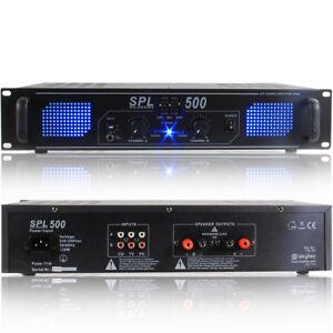 Skytec 178.791 DJ Power Amplifier 500W
