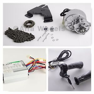 450W-24-Volt-13T-electric-motor-conversion-kit-Control-Throttle-f-bicycle-rear