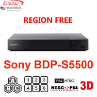 Sony Bdp-s5500 All Region Free Blu-ray Dvd Player - A, B, C & 0-9 Pal/ntsc