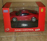 Radio Controlled Nikko F430 Ferrari E-ventus 1:32 Scale Great Workin Condition