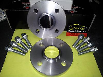 2 DISTANZIALI RUOTA 16mm MINI COOPER R55-R56-R57-R58-R59 CON BULLONI
