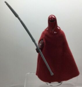 Vintage-Star-Wars-Emperor-039-s-Royal-Guard-1983-with-Original-Weapon-Coo-Variant-5