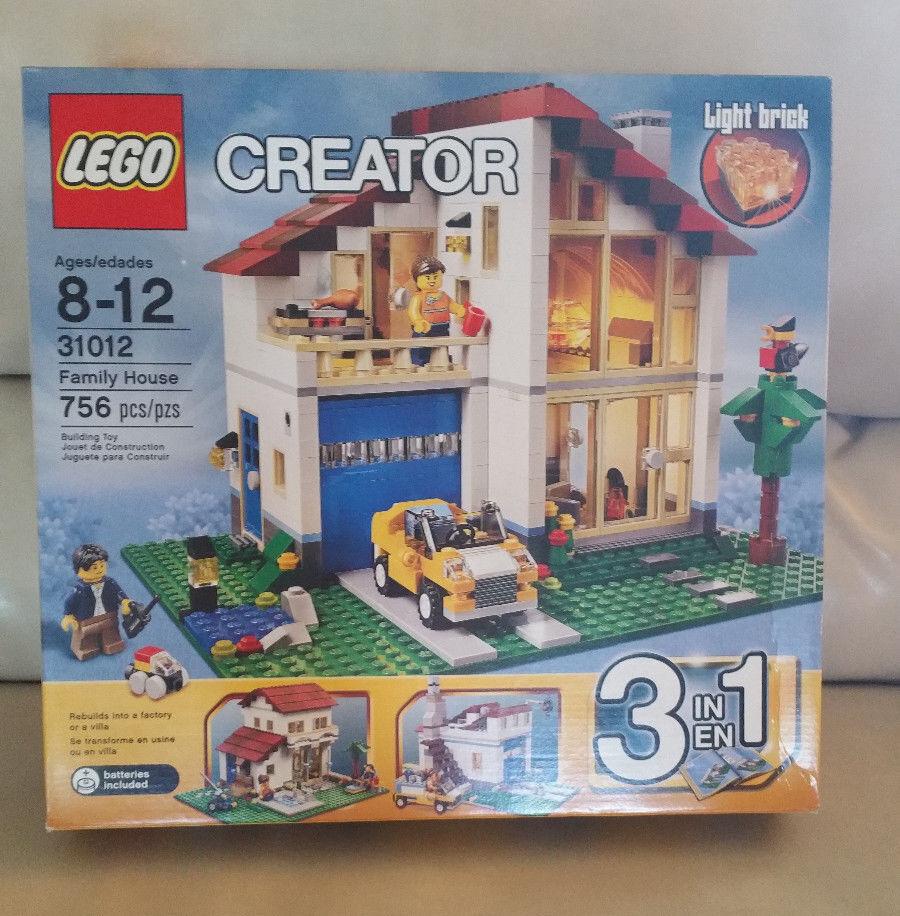 NEUF LEGO creator maison familiale 31012 Lumière Brique  Neuf, Scellé, retraité 3in1