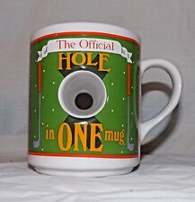 The Official Hole In One Novelty Golf Coffee Cup Mug