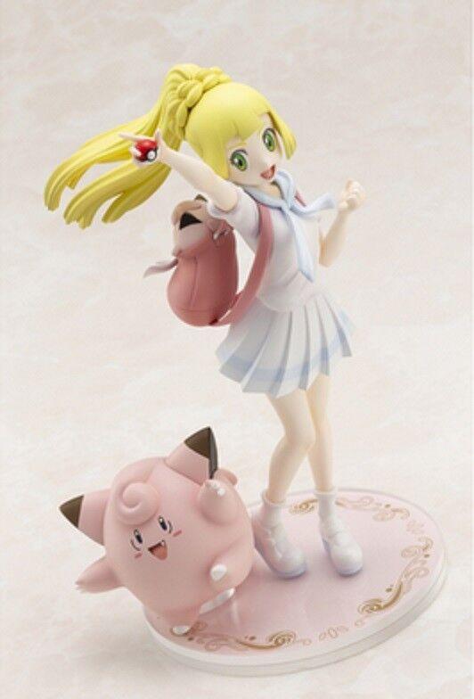 Pokemon Center Figure Lively Lillie and Clefairy 1/8 Japanese Limited KOTOBUKIYA
