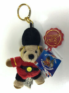 Bears of the United Kingdom Keychain - Simply Soft Collection