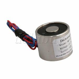 DC 5V 0.8A Electric Lifting Magnet 11LB 5Kg Holding Electromagnet Lift Solenoid