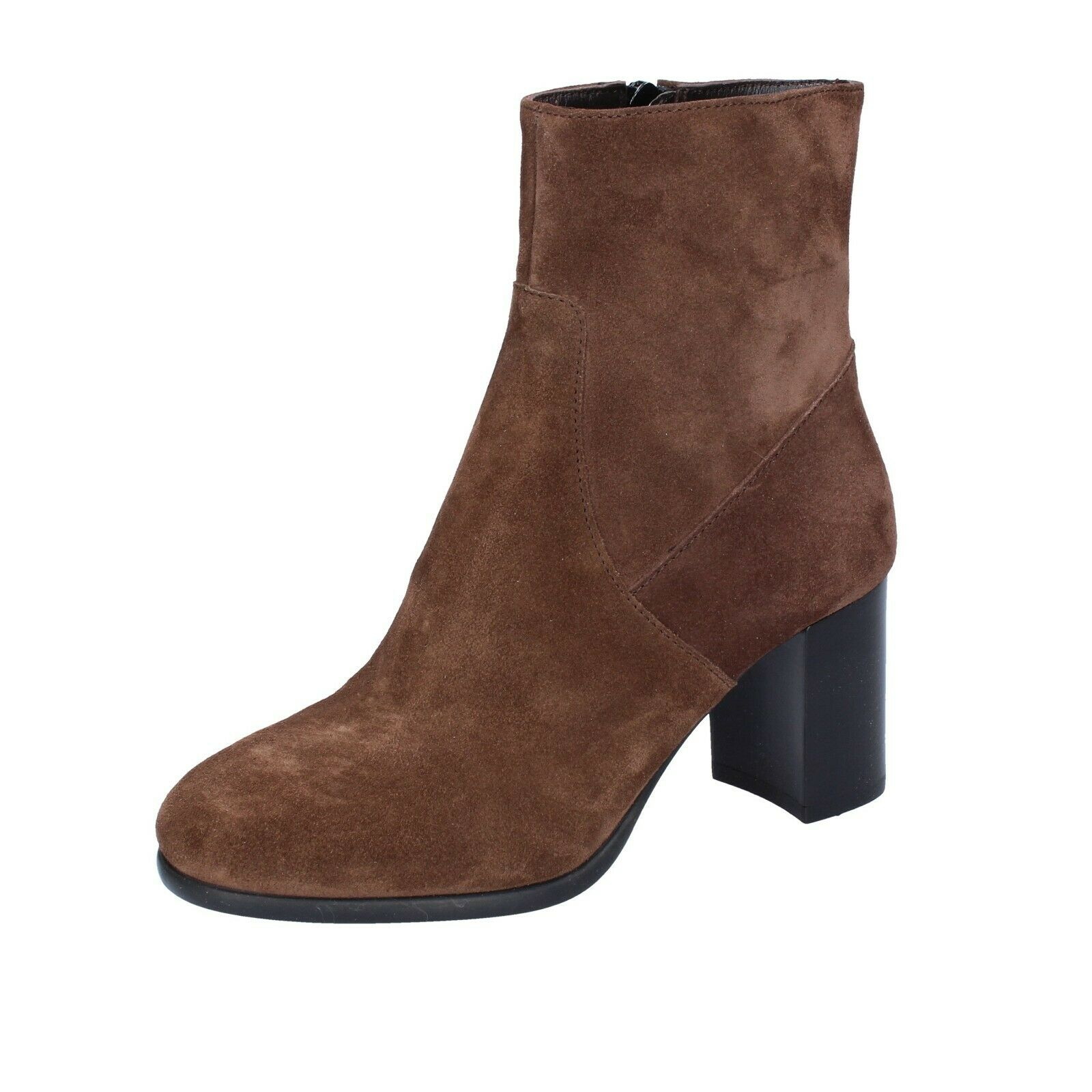 Womens shoes Triver Flight 35 EU Ankle Boots Brown Suede BR76-35