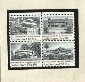 Estados Unidos Arquitectuira Serie del año 1982 (FT-7)