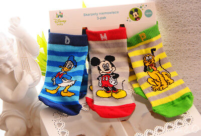 Socken Micky Maus Disney Baby Strümpfe Söckchen 3er Pack 13//15 oder 16//18