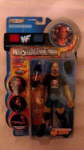 WWF WrestleMania XVII Ringside Chaos Steve Austin Figure By Jakks 2000 NEW t737