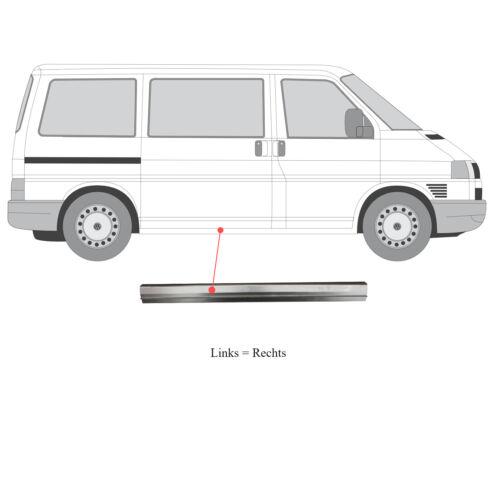 Tôle de réparation seuil gauche ou droite volkswagen transporter t5 2003-2009