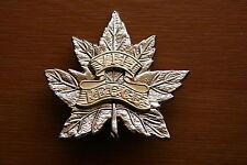 SUPERB COPY CANADIAN VIII 8TH RECCE REGIMENT 14CH CANADA CAP BADGE