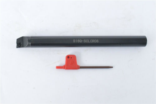 S16Q-SCLCR06 16×180mm Internal Lathe Boring Bar Turning Tool For CCMT0602