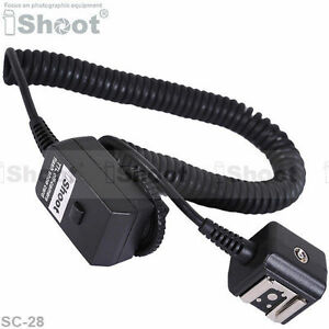 2.5m Flash Off-Camera Hot Shoe Mount SYNC I-TTL Cord/Cable for Nikon SC-28/SC-29 9515098781300