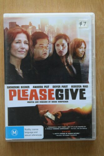 1 of 1 - Please Give (DVD, 2011     Preowned (D196)