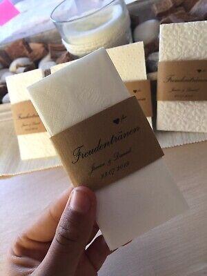 20 Lacrime Di Gioia Fazzoletti + Fascetta Matrimonio/20 Tissues Wedding-mostra Il Titolo Originale Calcolo Attento E Bilancio Rigoroso