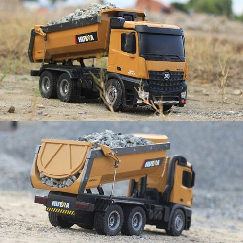 Huina 1:14 2.4G RC LKW 10-CH Fern Dump Truck Fernbedienung Spielzeug UC