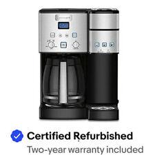 Cuisinart SS-15FR SS-15 12-Cup & Single-Serve Brewer Coffeemaker - Refurbished