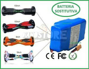 hoverboard batteria