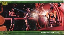 Star Wars Clone Wars Widevision Silver Stamped Parallel Base Card [500] #7