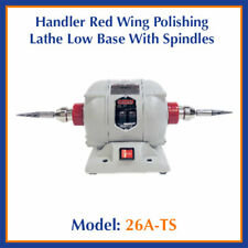 Handler Red Wing Dental Model 26a Ts Polishing Lathe Low Base With Spindles